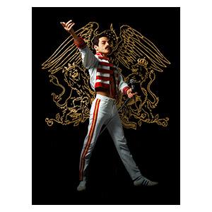 Хардпостер (на твёрдой основе) Bohemian Rhapsody. Размер: 30 х 40 см
